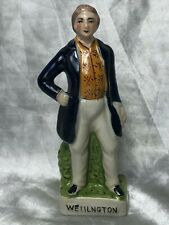 1 Fine 20th Century Vintage Wellington Ceramic Glazed Pottery Figurine Ornament