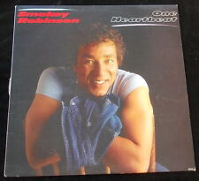 SMOKEY ROBINSON One Heartbeat LP