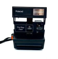 Polaroid OneStep Flash, Using 600 Film instant camera - Fully tested - Working B