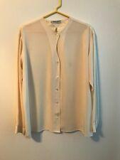 Vintage Giorgio Armani Silk Ivory Women's Blouse Size 42