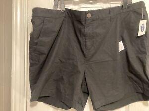 Old Navy Women's Black Chino Shorts Plus Size 20 NWT