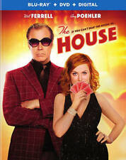 The House (Blu-ray/DVD, 2017, Includes Digital Copy)