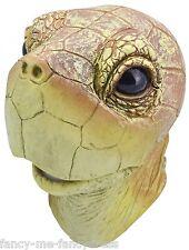 Hombre Mujer Tortuga Gomilla Máscara Animal Disfraz de Halloween