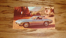 1964 Chevrolet Corvette Sting Ray Sport Coupe Post Card 64 Chevy