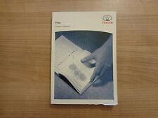 Toyota Prius Owners Handbook/Manual 09-12