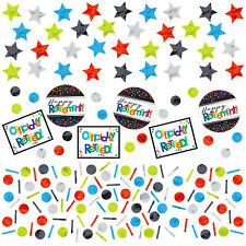 Triple Pack Happy Retirement + Stars Table Confetti Party Sprinkles Decorations