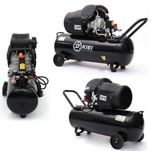 Air Compressor 100L Litre LTR 3.5HP 8 BAR 14.6CFM Direct Drive Electric Garage