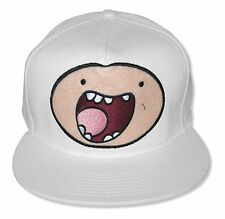 Adventure Time Finn Face White Baseball Hat New Official Cap