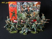 Airfix 1/32 Australian infantry WW2. professionally painted. 54mm. boxed