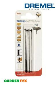 Dremel MS52 Wood/Plastic Moto Saw Blades ( 5 Pack ) 2615MS52JA 8710364062836
