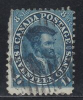 "Canada Scott #19  17 cent Jacques Cartier ""First Cents""  **"
