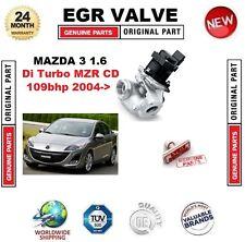 Para Mazda 3 1.6 Di Turbo MZR CD 109bhp 2004 - > Válvula EGR 5-PIN con Juntas/SELLOS