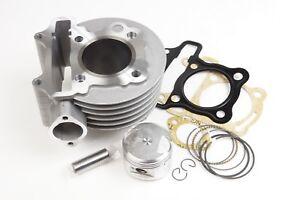 Racing cylinder kit 123cc 55mm for KYMCO 4T Kawasaki KFX90 90cc 4T ATV US CA