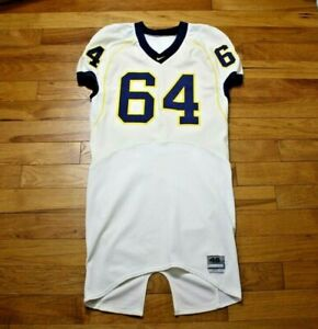 Grant DeBenedictis 2007 Michigan Wolverines game used jersey Nike size 46L + 4