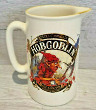 More details for hobgoblin brewery extra strong ale jug vintage made in england 18cm