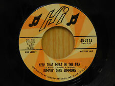 Jumpin Gene Simmons r&b 45 Keep That Meat In The Pan bw Go On Shoes HI