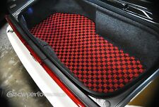 1991-2005 Acura NSX Karo Custom JDM Trunk Mat Red Checkered NA1 NA2