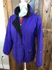 Vintage 80s 90s Obermeyer Womens Small Purple Pink Retro Puff Jacket Snow Ski