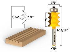18 Radius Triple Bead Furniture Molding Router Bit 14 Shank Yonico 16159q