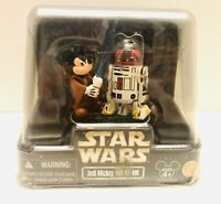 2010 Star Wars Jedi Mickey and R2-MK Star Tours Sealed Figures Hollywood Studios