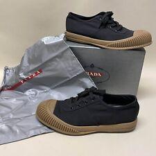PRADA MILANO LUXUS SNEAKER Schuhe PRADA 9 / 43 UK 9 US 10 NEU & BOX! 590€