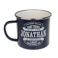 Top Bloke Johnathan Tin Mug NEW Indoors Outdoors Camping Fishing 53