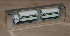Modell - MAN Wülfrather Baustoffe mit Zertifikat - NEU&OVP 1:87 H0 herpa Wagener