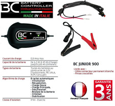 Chargeur batterie maintien BC900 12V 1,2Ah /45Ah moto / voiture / bateau / quad