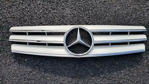 Mercedes Benz R129 SL500 SL600 Grille WHITE Front Grille 3 fins 90-2002