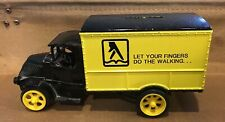 "Ertl 1926 Mack Bull Dog Truck Replica Bank ""Yellow Pages"" @"