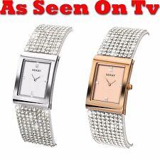 Seksy by Sekonda Krystal Ladies Swarovski Set Bracelet Watch As Seen On TV