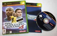 Pro Evolution Soccer 4 (Microsoft Xbox, 2004) Complete FREEPOST