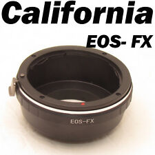 Canon EOS EF EF-S Mount to Fujifilm X-Pro1 Lens Mount Adapter FX Mount EF-FX E2