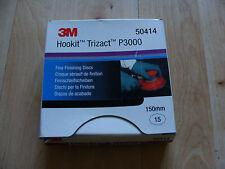 3M Trizact Fine Sanding Discs P3000 Hookit 150mm 50414