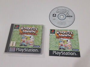 Harvest Moon Back to Nature | Sony Playstation 1 PS1 | PAL | CD | Case | Manual