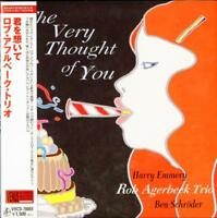 ROB AGERBEEK TRIO-THE VERY THOUGHT OF~-JAPAN MINI LP CD C75