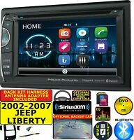 2002-2007 JEEP LIBERTY CD/DVD BLUETOOTH USB SD SIRIUSXM CAR RADIO STEREO
