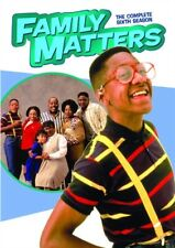 FAMILY MATTERS COMPLETE SIXTH SEASON 6 New Sealed 3 DVD Set