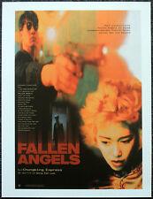 FALLEN ANGELS 1995 GERMAN FILM MOVIE POSTER PAGE . WONG KAR-WAI LEON LAI . N58