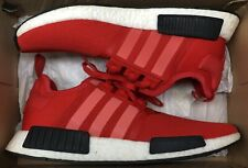 adidas NMD R1 Clear Red White Black Ultra Boost BB1970 Sz 11