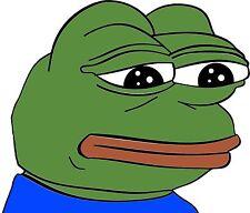 Pepe Sticker FEELS FROG meme 100 pack! Laptop  Window Bumper Car Bike Decal