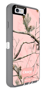 OtterBox DEFENDER Series for Apple iPhone 6s / 6 w/ Holster - CAMO PINK RealTree