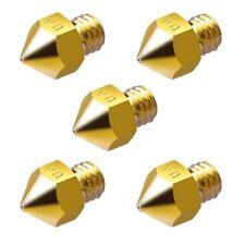 5x ugello per soffiaggio 0.4mm/Nozzle per 1.75mm filamento-CNC/Reprap/STAMPANTE 3d