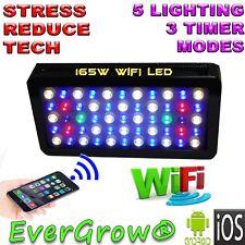 Evergrow Full Spectrum D120 165W Wifi Led Light For Reef saltwater aquarium