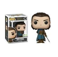 FUNKO POP Game of Thrones  ARYA STARK 76 2019 Spring Convention Exclusive