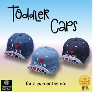 Toddler Kids Baby Hat Cap casual Denim