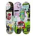 JEAN-MICHEL BASQUIAT skateboard triptych In Italian Skate Deck Set of 3 print