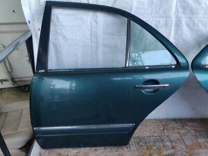 97 Mercedes-Benz E320; Rear Driver Door Shell; 2107302405; W/o airbag provisions