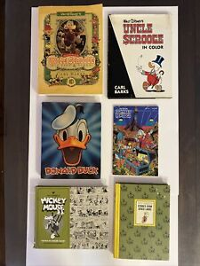 Walt Disney's Uncle Scrooge McDuck - His Life & Times Softcover & Mixed Lot, 6