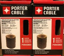 (2 PACK LOT) Porter Cable PXRASB60 Restorer Course Abrasive Roller Sleeve